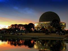 Planetario - Buenos Aires (Fabro - Max) Tags: parque sunset southamerica argentina atardecer buenosaires zoom tango planetarium palermo planetario sudamerica galileogalilei caba