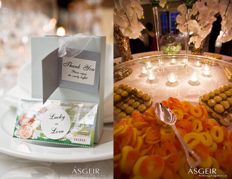 Ritz Carlton Laguna Niguel Wedding - Favors and Candy