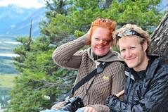 Tunnel Mountain Summit (iwona_kellie) Tags: trip friends alberta banff beata banffnationalpark tunnelmountain iwonakellie photobybeataaleksiejczuk