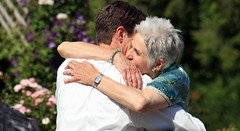 A tight hug (QuinnDombrowski) Tags: wedding groom hug motherofthegroom