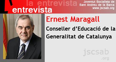 entrevista a Ernest Maragall