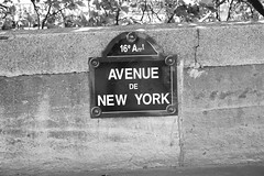 Avenue de New York (coffeewallah) Tags: blackandwhite paris avenuedenewyork