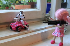 MOVE!! (ToyAddict ~ Neverland) Tags: car stormtrooper bobby bjd clone ai