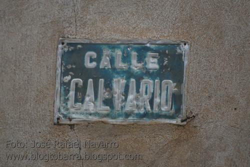 Placas - Calle Calvario