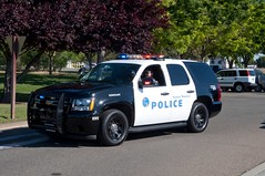 Santa Monica Police SUV Sergeant (rocketdogphoto) Tags: california usa policecar sacramentocounty westsacramento chevytahoe santamonicapolicedepartment sppd californiahighwaypatrolacademy californiapoliceofficersmemorialride