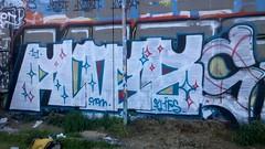 flies of NM. mr. cleen (That Kid You See Every Were) Tags: seattle dark graffiti arts graffito smurf nm darkarts seattlegraffiti umxs