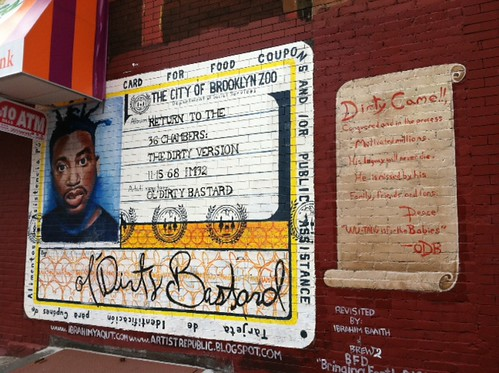 a Bed-Stuy Icon: ODB's welfare card! by danasjoy