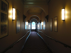 the hall to cinema one (smalljude) Tags: new cinema art theatre zealand wellington roxy deco