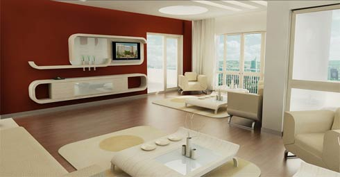luxury interior decorating apartment