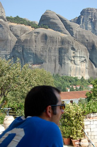 Vista do Doupiani Hotel - Kastraki