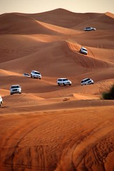 Follow me (MonsterK) Tags: car sand nikon dubai desert jeep safari d80 aplusphoto