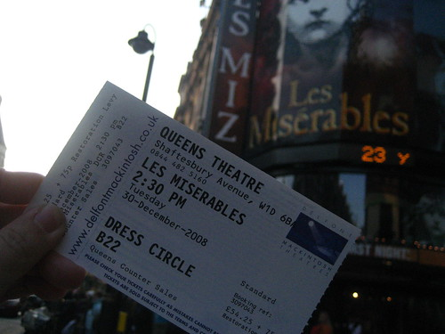 Les Misérables @ Queen's Theatre