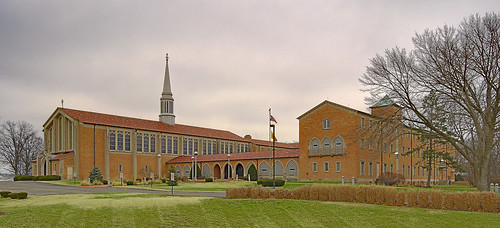 Saint Mark Roman Catholic Church, in Affton, Missouri, USA - exterior