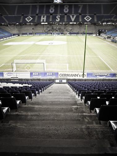 Hamburger SV gegen FC Hansa Rostock