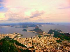 Afternoon in Rio de Janeiro (emin galledar) Tags: sea wallpaper brazil rio brasil riodejaneiro de samba view christtheredeemer corcovado pao sugarloaf acucar cristoretendor