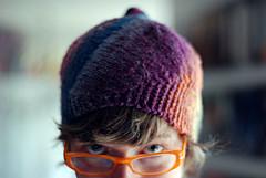 pre-vortex hat #1 reshaped