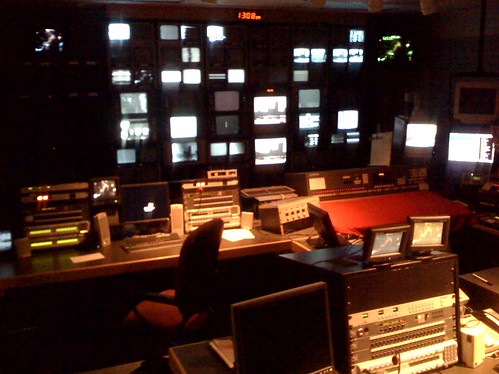 WBZ TV Analog Control Room