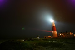 Lighthouse - Portland Bill at night (9min f/5) (AndWhyNot) Tags: lighthouse storm night dark portland lens bill nikon long exposure sigma andrew spray flare 1020 whyte 1389 andwhynot d80