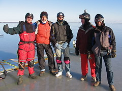 Men of Wind and Ice (jeff schultz photography) Tags: helmet longisland windsurfing bellport icesailing jefft icesurfing frankmessina kevinoshea peteroesch scottyanuck bellportbay