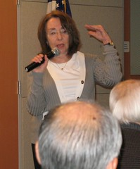 Jean Pfaelzer at the Martin Luther King Jr. Library