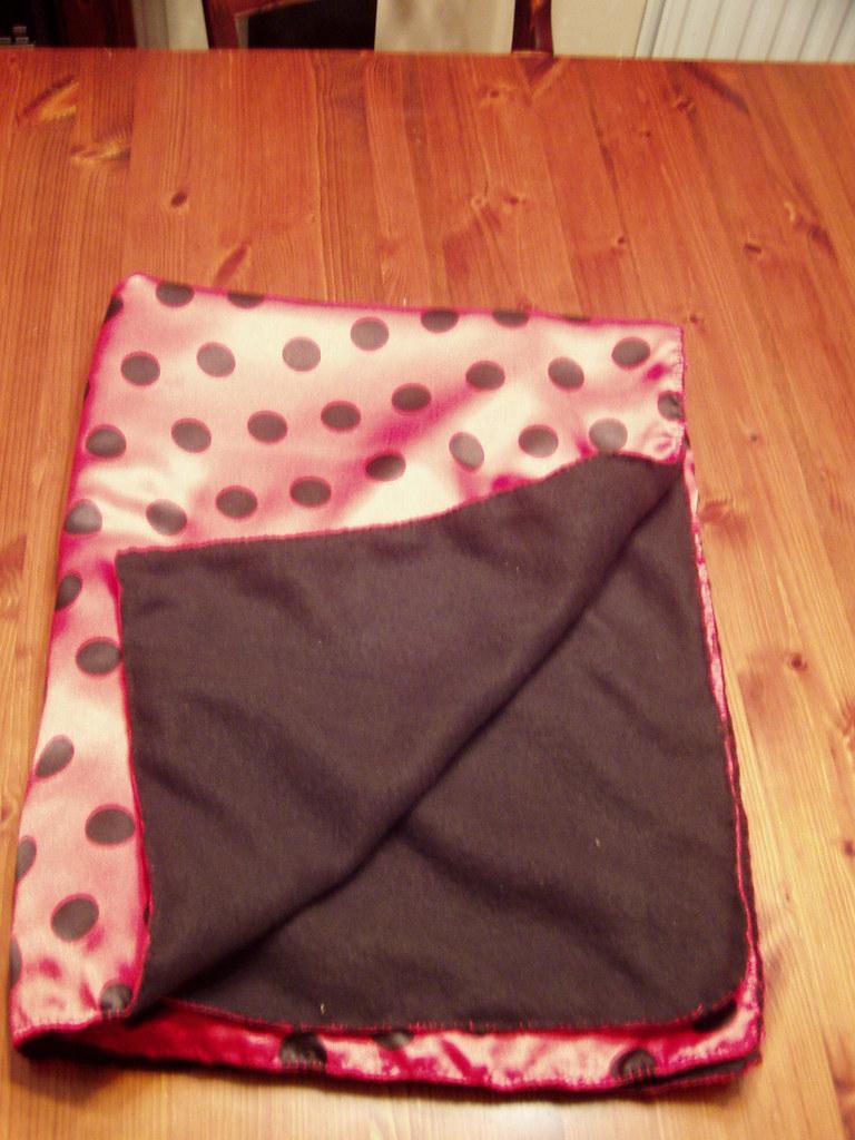 Ladybird Polka Baby Blanket
