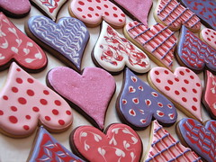 Big Valentine Heart Cookies (Whipped Bakeshop) Tags: hearts valentines valentinesday heartcookies cookies3 zoelukas whippedbakeshop valentineheartcookies bestofphilly2010 philadelphiacakescookiesandcupcakes