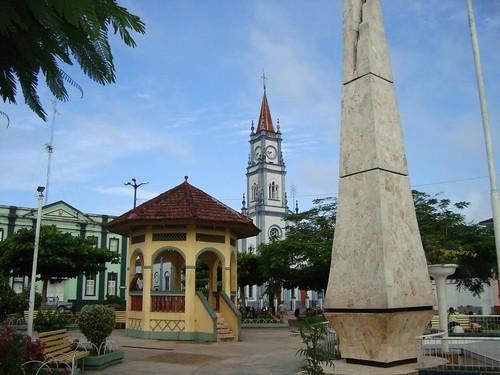 Plaza de Armas de Yurimaguas