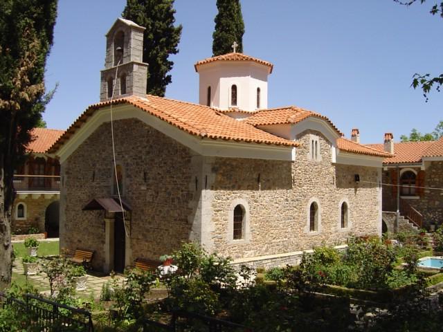 Στερεά Ελλάδα - Βοιωτία - Δήμος Δαύλειας Ιερά Μονή Ιερουσαλήμ1