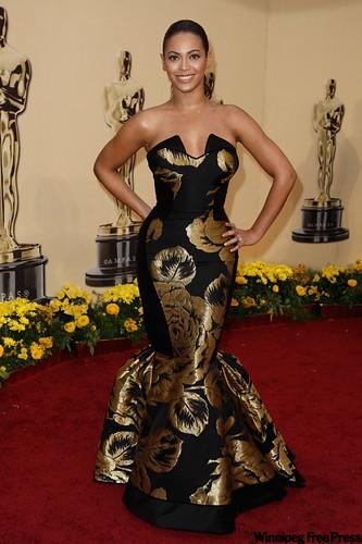 Premios Oscar Beyonce vestido