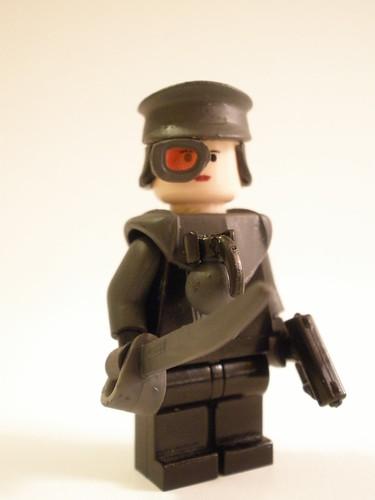 Bloktian Commander Ella Handroff custom minifig