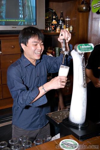 Huai Bin Pouring