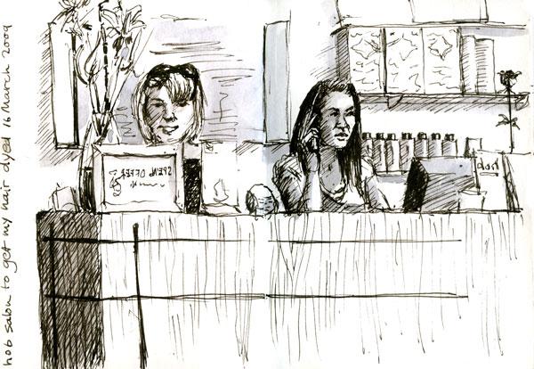 Hob salon, St Albans