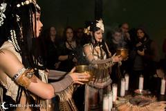 Serpentine at Orbis Nex (mr. nightshade) Tags: art night dark portland fire candles livemusic performance bellydance serpentine candlelit ubergoth orbisnex finalrites oaklandunderground obsequiumfuneris