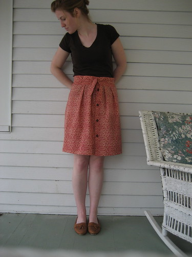 wiksten skirt from pattern