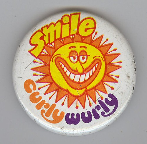 Curly Wurly Button