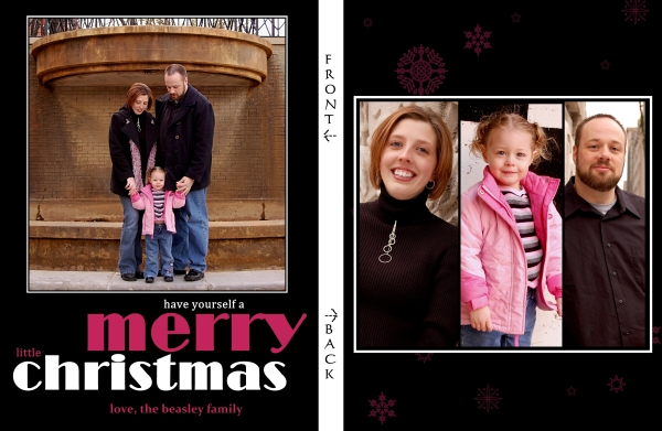 WEB A Merry Little Christmas 3 Front and Back