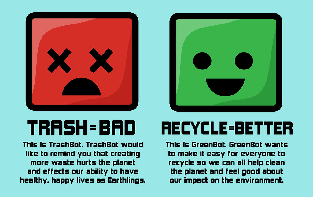 ideas for recycling posters