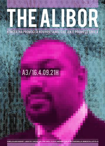 TheAlibor (band) poster new2