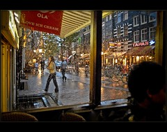 Amsterdam Jordan ....drinking tea  in a sweet summer rainy night ...! (Izakigur) Tags: izakigur2007 izakigur nikon amsterdam iloveamsterdam nikond200 europa europe feel flickr izakigurholland