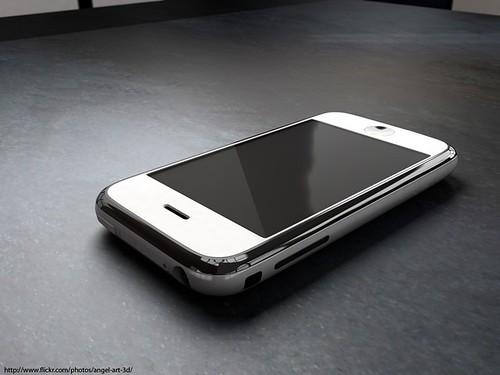 iPhone concept by Angel Art 3D.