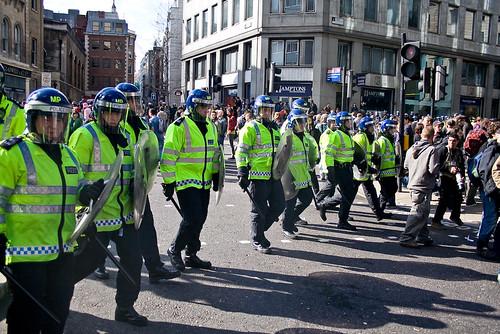 G20 Police riot squad