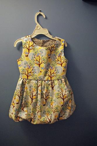 ana's birdie dress