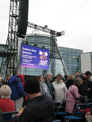 Crowd Scene, Leonard Cohen Concert, Weybridge, 11 July 2009
