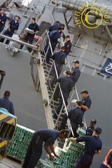 USS Burke  uploading