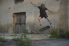 kickflip to flat