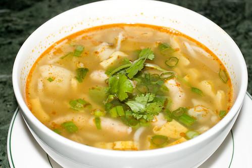 Shrimp Paste Noodle Soup