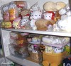 nyanko shelves (iheartkitty) Tags: japan cat japanese plush kawaii sanx nyanko