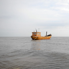 calm sea (Werner Schnell Images (2.stream)) Tags: morning sea boat fishing baltic explore nordsee usedom werner ws fischerboot schnell heringsdorf ahlbeck explored wernerschnell ©wernerschnellallrightsreserved