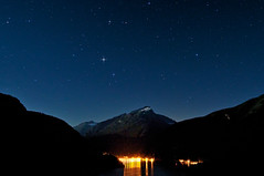 North Cascades National Park Starry Night (Fort Photo) Tags: blue sky mountain lake mountains nature silhouette night stars landscape star evening washington nationalpark nikon state northwest nps dam silhouettes peak astrophotography cascades wa astronomy diablo pnw 2009 afterdark d300 northcascadesnationalpark catchycolorsblue Astrometrydotnet:status=failed Astrometrydotnet:id=alpha20090824871237