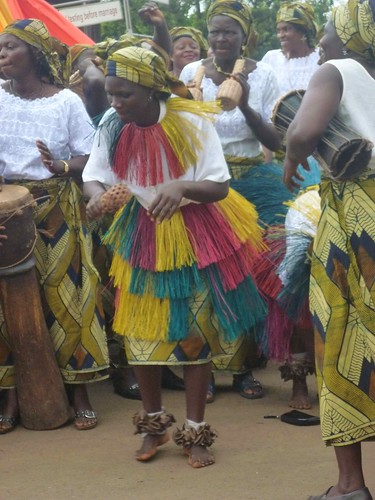 Traditional Music and Dancing on African Women's Day